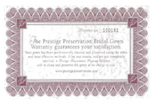 Prestige Preservation Warranty - Prestige Cleaners Dry Cleaning Scottsdale