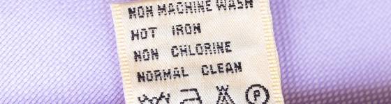 How to Decode Washing Symbols on Clothing Labels