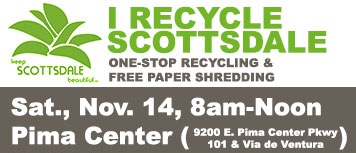 Keep Scottsdale Beautiful Prestige Cleaners Recycles