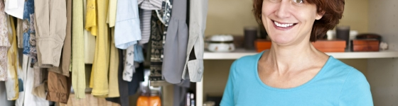Closet Organizing and Spring Cleaning