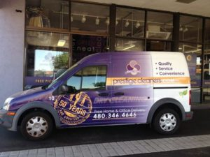 Free Dry Cleaning Pickup and Delivery | Prestige Cleaners Scottsdale