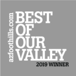 2019 Best of our valley badge