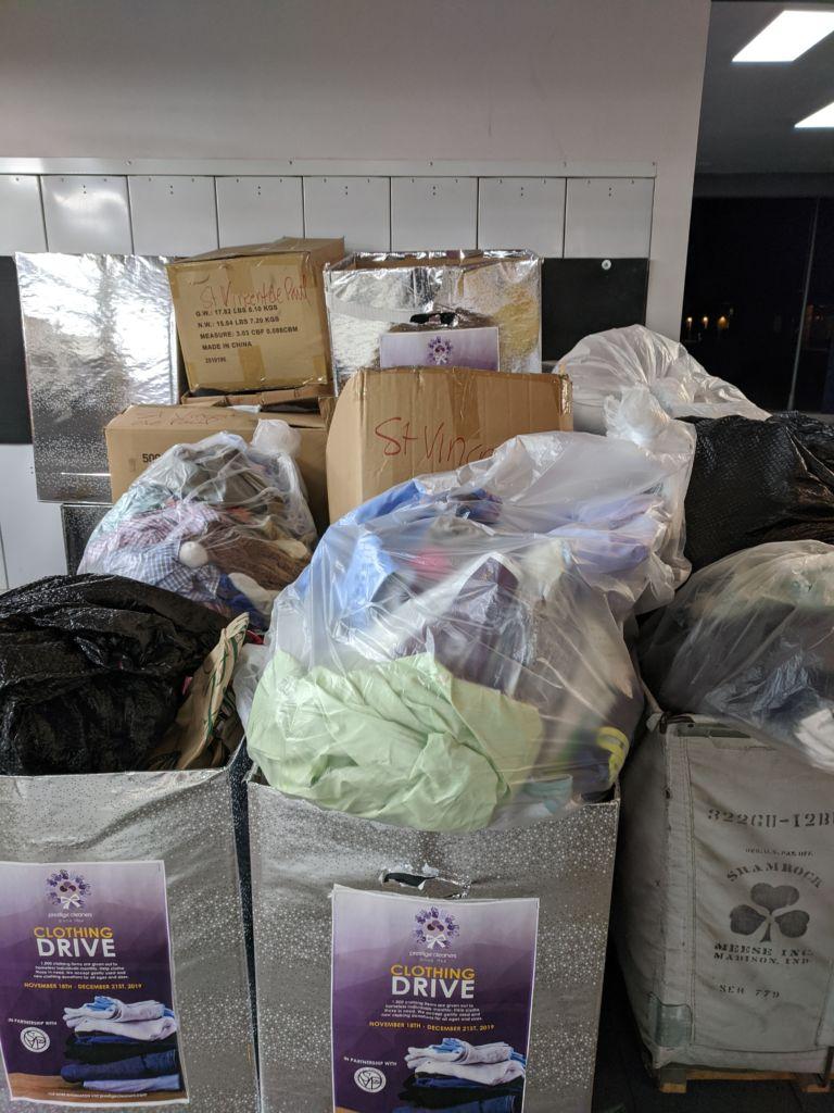 Prestige Laundry Donations