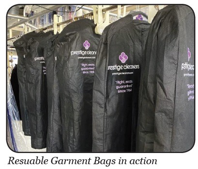 Prestige reusable garment bags